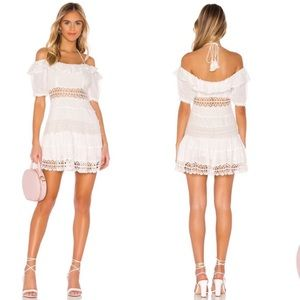 Free People Cruel Intentions Crochet Lace Up Dress